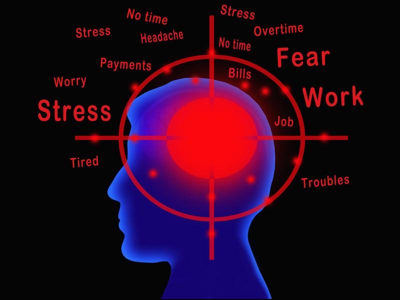 Αποτέλεσμα εικόνας για stress brain